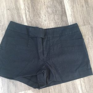 Club Monaco Black Shorts. New without tag